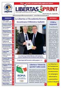 Copertina Libertas Sprint n° 24
